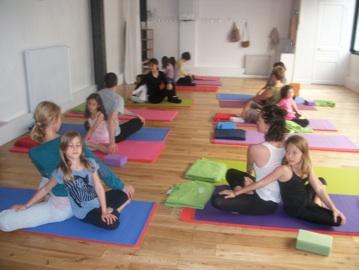 cours yoga parents/enfants - centre chaps paris