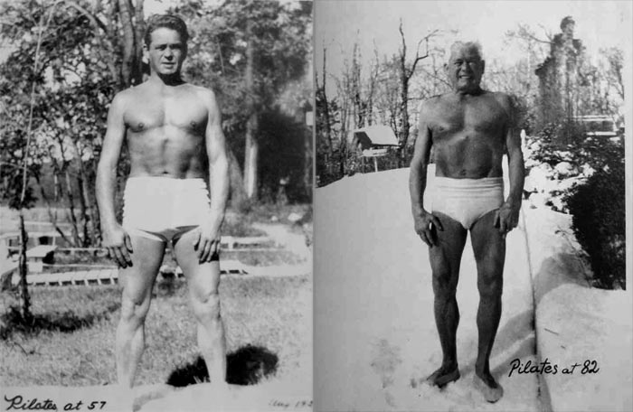 Joseph Pilates - centre chaps paris
