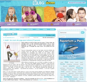 article-yoga-enfants-fleurus-presse