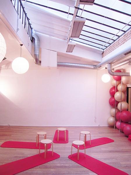 Centre CHAPS Pilates Yoga Barre au sol Paris