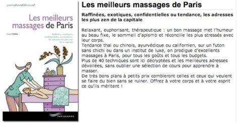 meilleurs massages de paris